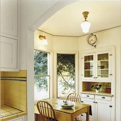 ARCHWAY Photo: David Penton | thisoldhouse.com | from A Small Kitchen Gains Space Within the Same Footprint