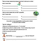 Worksheet teaching adults/students with disabilities how to call into work or school when they are not able to attend.  This product available in...
