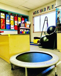 Sensory corner for a special education classroom