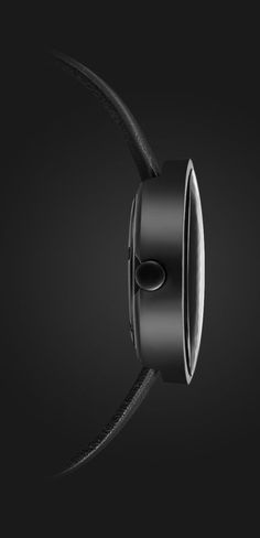 Check this out on leManoosh.com: #Black #Chiseled #Grey #Leather #Minimalist #Texture #Watch
