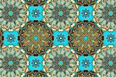 Ornamental Seamless Pattern by Sunny_Lion on Creative Market