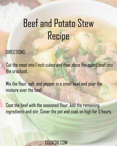 Squash pork pasta skillet recipe pork recipes yummy food and pork beef and potato stew forumfinder Images