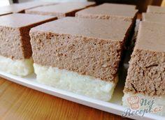 Famózní nepečené ovocné řezy | NejRecept.cz Krispie Treats, Rice Krispies, Vanilla Cake, Food And Drink, Gluten Free, Sweets, Cheesecake, Baking, Desserts