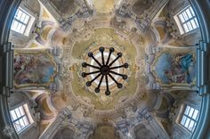 The Ceiling of Nostra Donna Church in Pontremoli