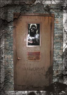 asylum door haunted house animatronic i would love to have this