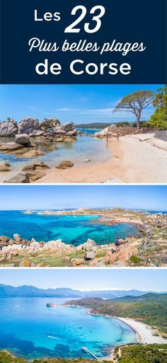 The 23 Best Beaches in Corsica (With Photos + Tips) Pebble Beach, White Sand Beach, Holiday Destinations, Vacation Destinations, Vacations, Travel List, Travel Guides, Travel Around The World, Around The Worlds
