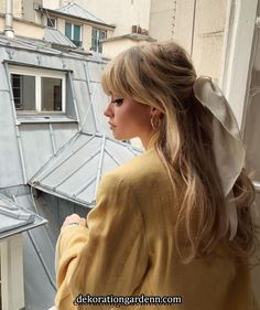 Uploaded by bubbleguumm. Find images and videos about girl, style and hair on We Heart It - the app to get lost in what you love. Scarf Hairstyles, Pretty Hairstyles, Romantic Hairstyles, Style Hairstyle, Blond Pony, Hair Inspo, Hair Inspiration, Corte Y Color, Hair Day