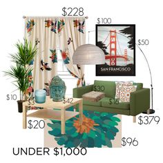 Design for Under $1,000, created by eiluned on Polyvore