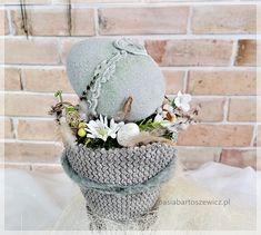 www.basiabartoszewicz.pl Easter Eggs, Crochet Hats, Knitting Hats