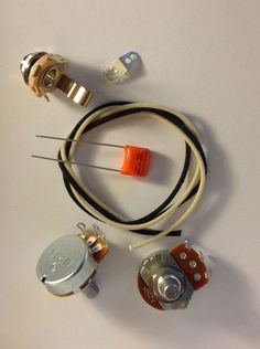 US Spec Wiring Harness Kit For Precision Bass .047uf 716p Orange Drop #AxegrinderzToneProducts