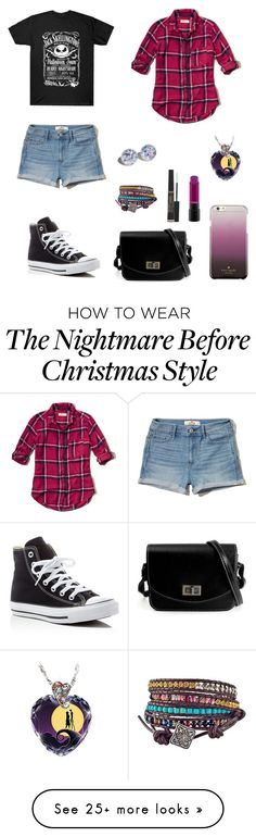 """Casual"" by heyladylolita on Polyvore featuring Hollister Co., Converse, The Bradford Exchange, Kate Spade and L'Oréal Paris"