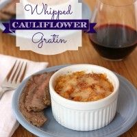Whipped Cauliflower Gratin 1 title