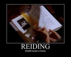 Reiding by Willowy, via Flickr
