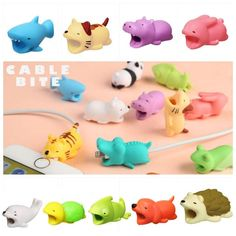 Consumer Electronics Digital Cables 1pc Cute Bite Cartoon Animal Cable Protector Cord Wire Protection Mini Cover Charging Cable Winder High Quality Protector New To Enjoy High Reputation At Home And Abroad