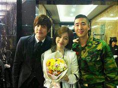 Luna with Kim Kyujong and Yoon JoonSung