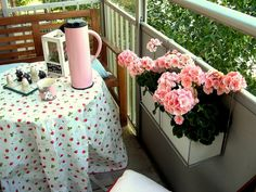 lente-decoratie-balkon