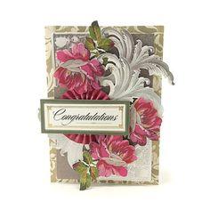 Anna Griffin® Foil Flourishes Decorative Sticker Kit - Silver   HSN