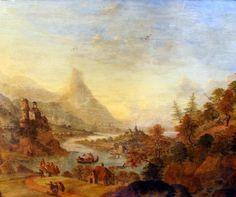 Cornelis Verdonck (1665 - 1715), Ideale Landschaft mit Personenstaffage, Öl/Holz, gerahmt, H x B ca. 32 x 39 cm    Anbieter  Kunst- & Auktionshaus Walter Ginhart    Saalauktion  Ausruf:  9000.00EUR