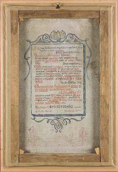 File:Tibor Boromisza - Buddhist Proclamation (Dr. Henrik Szollos At Prison - Verso).jpg