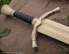 Tauriel's Blades Wood Replica Dagger Knives by ImagineNationShop