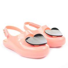 Vivienne Westwood For Melissa Kids Mini Melissa Peach Heart Shoes #pinparty