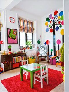 El Rincón de Teo: Habitaciones Infantiles, color y diseño!!