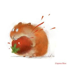 Illustrations by Wiebke Rauers Animal Sketches, Animal Drawings, Art Drawings, Cute Illustration, Character Illustration, Sketch Manga, Watercolor Animals, Freelance Illustrator, Whimsical Art