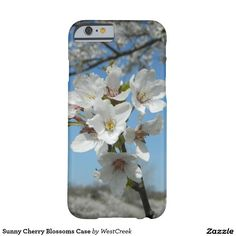 Sunny Cherry Blossoms Case Barely There iPhone 6 Case