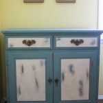 Chalk Painted Kitchen Buffet from Marty's Musings