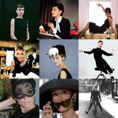 Audrey in black