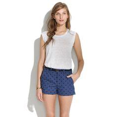 Tailored Shorts in Artdot : shorts | Madewell