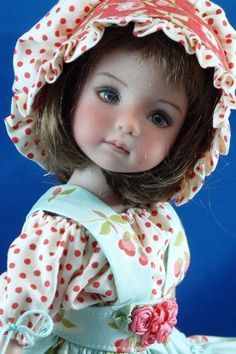 sweet outfit and doll - reminds me of my little Betsy McCall.