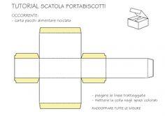 tutorial scatola porta biscotti
