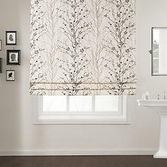 Master Bedroom Blinds Elegant Wintersweet Cotton Roman Shade – USD $ 39.99