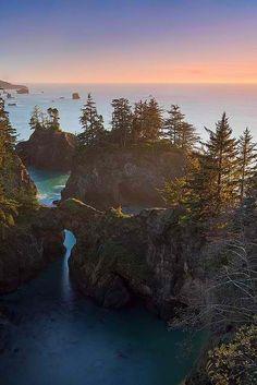 Camping along the Oregon Coast