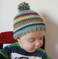 Simple Toddler Hat | AllFreeKnitting.com