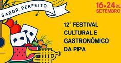 A partir do dia 16 de setembro até o dia 24, a praia de Pipa - Natal - RN se ilumina com o 12º Festival Cultural e Gastronômico da Pipa. http://www.kardapion.com.br/evento/12-festival-cultural-e-gastronomico-da-pipa