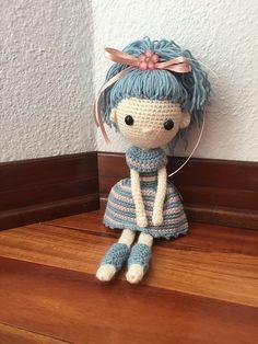 Ravelry: BereaGirl's Dusty Blue Doll