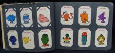 Lot 262 - Album of swap cards including Muppets, Smurfs, Flintstones and Mr Men