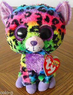 20130e6e806 Ty Beanie Boo Boos Trixie The Leopard 6