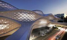 Zaha Hadid gana el concurso de diseño de la estación de metro de Riyadh, Arabia Saudita