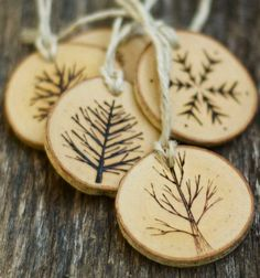 wood burning patterns | ... patterns are derived sustainably and come with hemp colored wool for