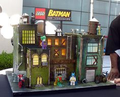 Batman Lego Cake. Video Game Cake