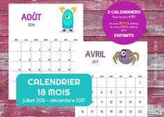 ideas about Calendrier 2016 À Imprimer on Pinterest | Calendrier 2016 ...