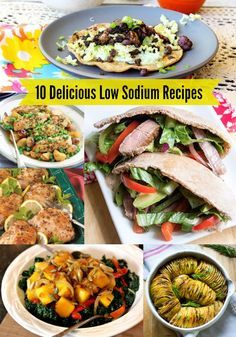10 Mouth Watering Low Sodium Recipes