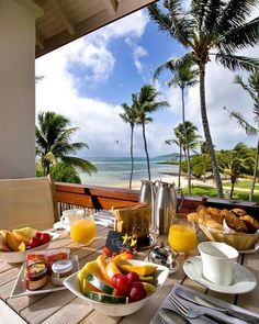 Nadire Atas on Health and Nourishment in Style Relais & château Le Cap Est Lagoon Resort & Spa www. Breakfast Around The World, Breakfast In Bed, Places To Travel, Places To Go, Travel Destinations, Surprises For Her, Romantic Surprise, Le Cap, Resort Spa