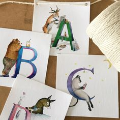 Create a stylish and fun nursery or kids rooms with creative wall art for kids. Art Wall Kids, Nursery Wall Art, Art For Kids, Pop Design, Print Design, Alphabet Names, Name Bunting, Kids Prints, Create Yourself