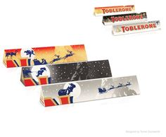 Toblerone Christmas Packaging Designed by Turner Duckworth. Bad Room Ideas, Chocolate Pack, Food Branding, Toblerone, Tis The Season, Packaging, Candy, Christmas, Archive