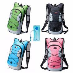 HOTSPEED Durable Men Women Unisex Outdoor Hiking Camping Backpack  Waterproof Nylon Travel Shoulder Bag Rucksack Well b529655e91