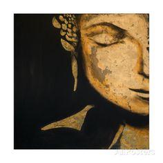 Zen Buddha Poster por JC Pino na AllPosters.com.br